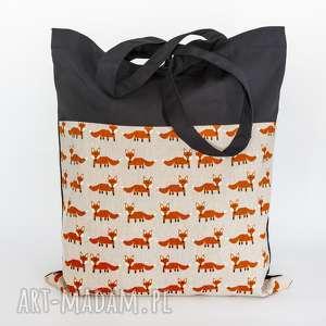 lisia torba, worek, plecak, lisy, zwierzaki