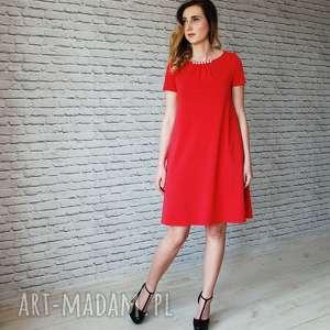 096ac54565 Czerwone lalu do 150 zł - ręcznie robione (sukienka)