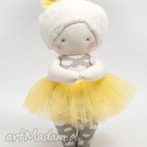 Prezent Baletnica Cytrynka, baletnica, taniec, lalka, prezent, handmade, dziewczynka