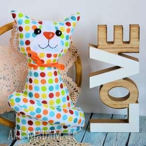 hand-made maskotki kotek torebkowy - krzyś 25