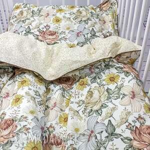 NuvaArt Kwiaty vintage poszewka na pościel dla dziewczynki S 120