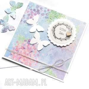 handmade kartki kartka ślubna :: handmade :: motyle watercolors