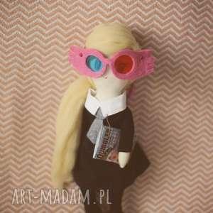 luna lovegood - lalka handmade dla pani magdy, luna, lovegood, harry, potter, lalka