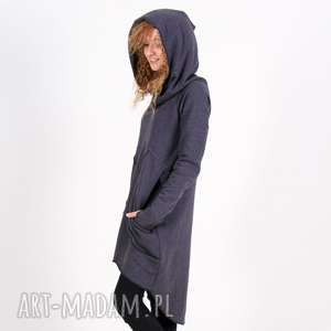 Bluza sukienka tunika Saloni mix, bluza, sukienka, tunika, długa, asymetryczna,