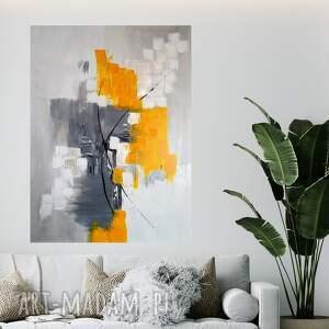 przestrzeń i czas obraz 60x80 cm, do salonu, abstrakcyjny