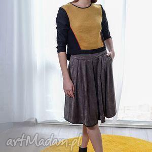 ręcznie robione spódnice zamszowa spódnica calista