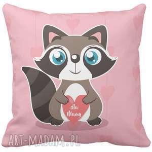 handmade poduszki poduszka na prezent serce dla kochanej mamy dzień matki 6777