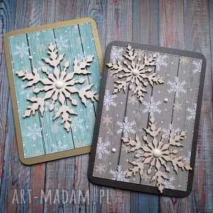 Pomysł na świąteczne prezenty: Świąteczny dwupak kartki
