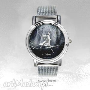 handmade pomysły na prezenty pod choinkę zegarek, bransoletka - magiczny las magic
