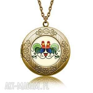sekretnik koguty, łańcuszrek, sekretnik, folk, święta, prezent