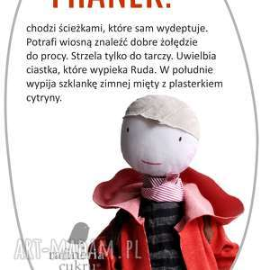 hand-made lalki franek. serdeczny kolega.