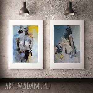 Zestaw akty dom galeria alina louka duże obrazy, kobieta duży
