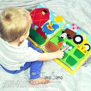 Książeczka sensoryczna dladziecka 1 , quietbook, ksiązeczkasensorycz, silentbook