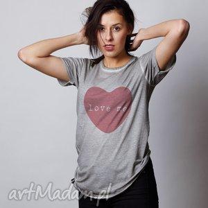LOVE ME prezent na Walentynki serce, walentynki, kochac, tshirt, oversize