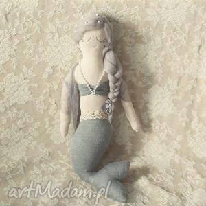 lalki bajka morska - syrenka lea, lalka, szmacianka, syrenka, ozdoba dla dziecka