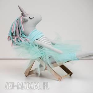 ręcznie zrobione dla dziecka jednorożec unicorn duży