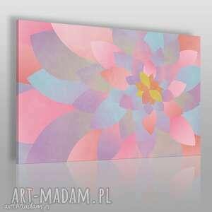 obraz na płótnie - płatki abstrakcja 120x80 cm 66301, płatki