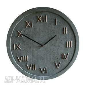 zegary 3 betonowe zestaw, zegar, święta