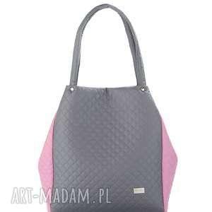 torebka pikowana simple 580 - simple, składana, pikowana