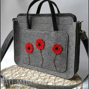 wyjątkowe prezenty, na ramię torebka z makami, catoo, prezent, torebka, torba