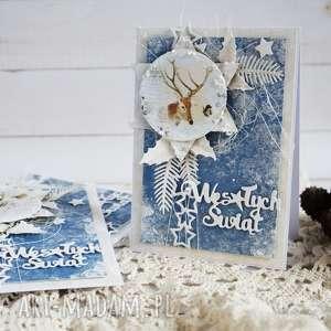 Prezent Kartka świąteczna, boże-narodzenie, kartka-świąteczna