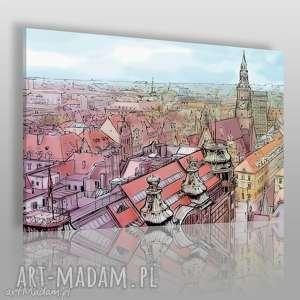 Obraz na płótnie - WROCŁAW RYNEK 120x80 cm (65201), wrocław, rynek, centrum