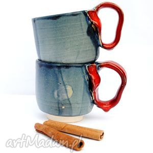 ceramiczne kubeczki - czar par ii, kubek, kubki, naczynia, ceramika, uzytkowe
