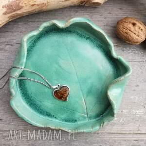 ręcznie wykonane ceramika ceramiczny talerzyk (c230)
