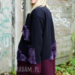 płaszcze wełniany ciepły płaszcz z futerkiem, wełniany, ciepły, futro, zimowy