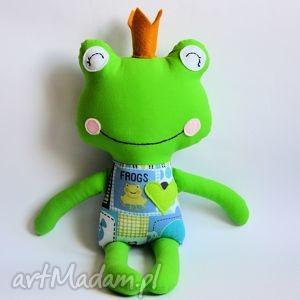 żabka - zaczarowany książę nr 1, żaba, książę, żabka, zabawka, maskotka, dekoracja