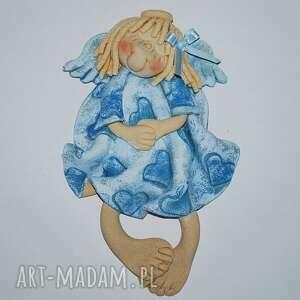 hand-made pokoik dziecka madzia słodko się uśmiecha - anioł