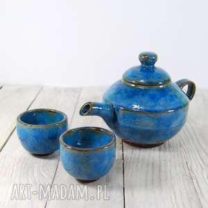 Czajnik do herbaty z czarkami, imbryk, dzbanek, dzbanuszek, do-herbaty, herbata, kawa