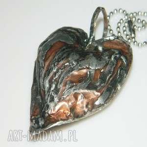 miedziane serce, miedziane-serce, unikatowa-biżuteria, unikatowe-serce