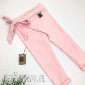 handmade ubranka wiązane spodnie dresowe