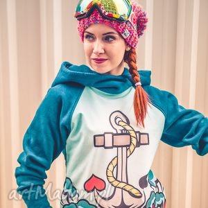 Energy Shot! Marina, jesień, zima, czapka, ocieplana, włóczka