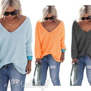 ręcznie wykonane bluzki sexy serek sweterek:)