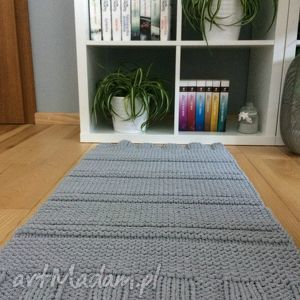 unikalny, dywan pattern, dywan, chodnik, wzór, sznurek, szary