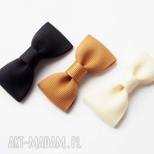 hand-made ozdoby do włosów spinki kokardki kolekcja animals