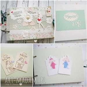ręczne wykonanie scrapbooking notesy pamiętnik/szkicownik/notes ciążowy będę mamą
