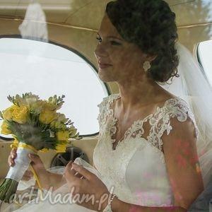komplet ślubny marriage soutache, sutasz, ivory, ślubny, zestaw