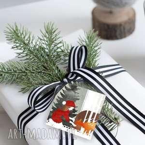 Pomysły na święta prezenty! Bileciki na świąteczne prezenty 6 szt