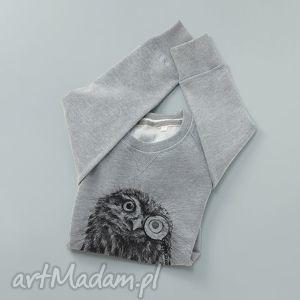 SOWA PÓJDŹKA bluza z nadrukiem, longsleeve, nadruk