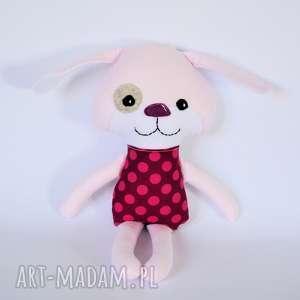 pies kejter - wersja s - wiola - pies, zabawka, dziewczynka, chrzest, roczek, przytulanka