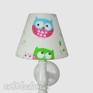 kinkiet cute owl - kinkiet, dla, dzieci, drewniany, popielewska, style