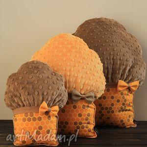poduszki muffinki - muffinki, mufinki, poduszki, przytulanki, honey, miód