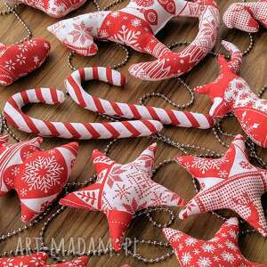 wielki zestaw dekoracji świątecznych choinkowych 21 sztuk - święta