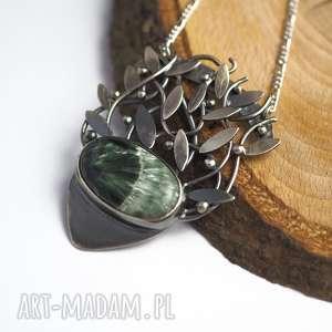 srebrny naszyjnik magiczne drzewo życia - tajemniczy, magiczny, celtycki