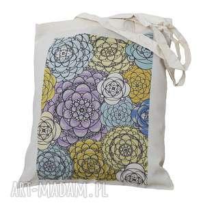 torba na zakupy kwiaty, torba, torebka, eko, ekologiczna, zakupy