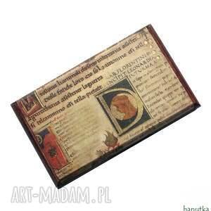 hanutka manuskrypt - wizytownik, męski, mężczyzna, prezent, stylowy