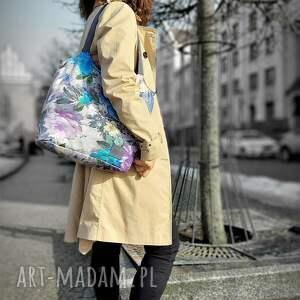 lekka i poręczna kolorowa torba 2708, torba, na ramię, torebka, duża